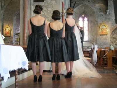 bridesmaids hairdos